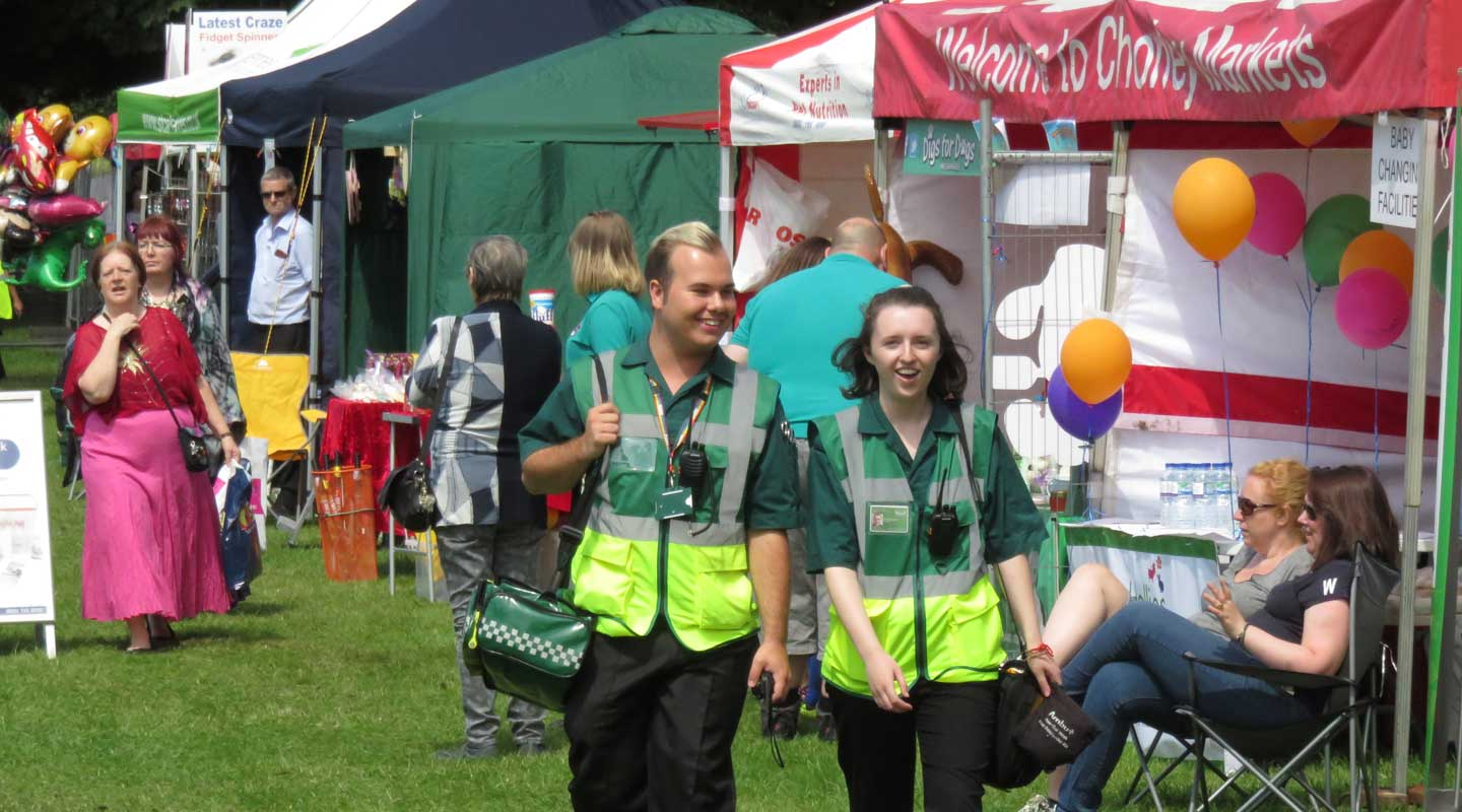 Chorley's Angels <br /><br />First Aid Community Group